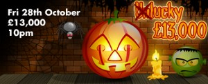 Win £13,000 on Holloween's Bingo