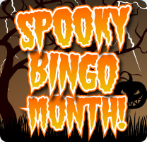 Spooky Month of Bingo