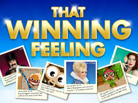 The winning feeling - £30,000 up for grabs