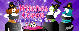 Play the Witches Coven at 888 Ladies Bingo